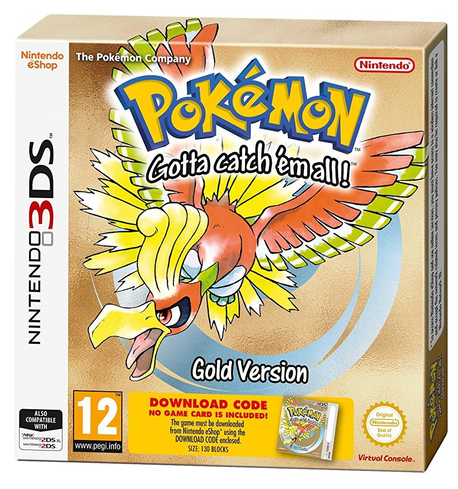Pokémon Gold (Packaged Download Code) - 3DS