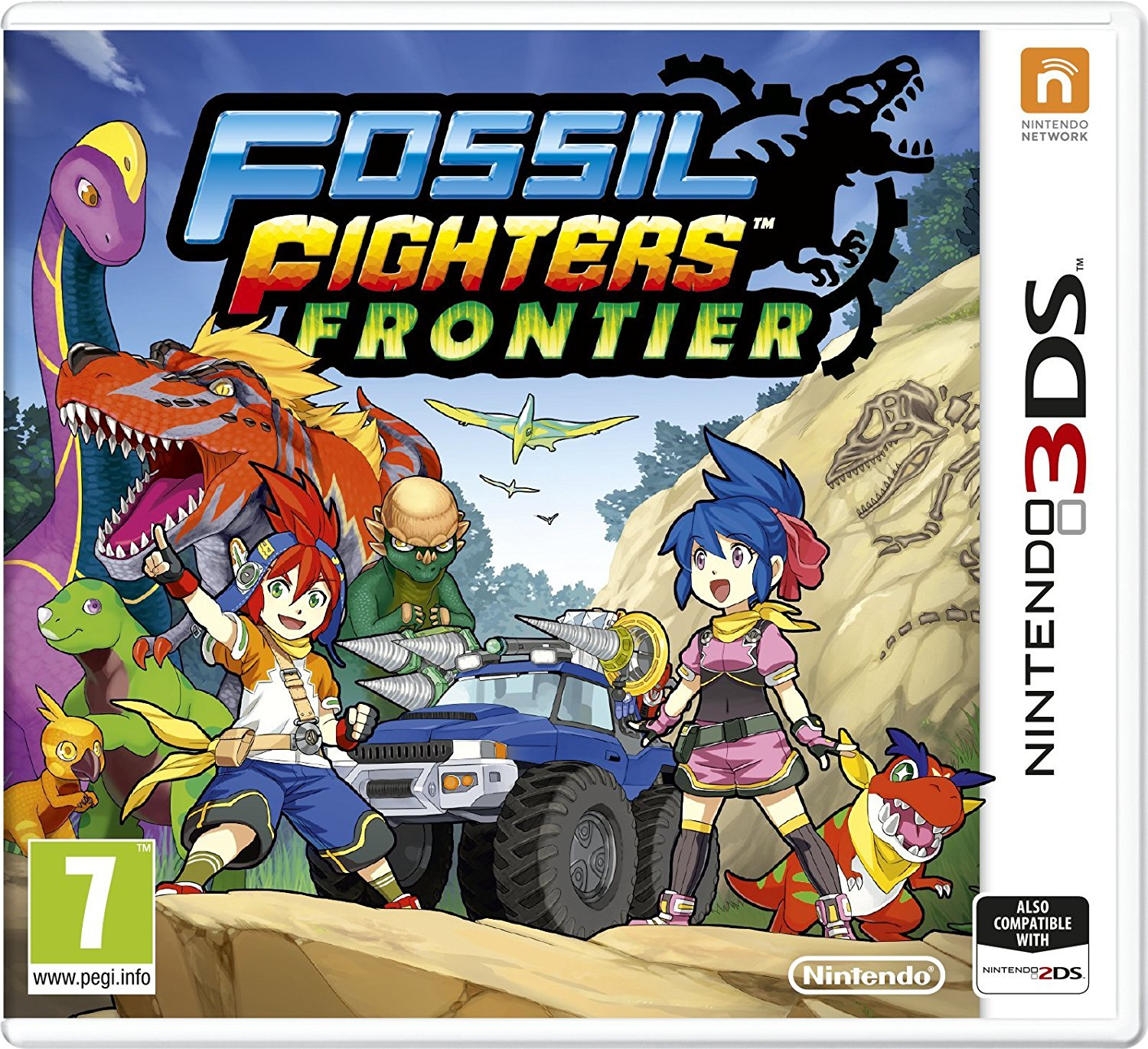 Fossil Fighters: Frontier - 3DS