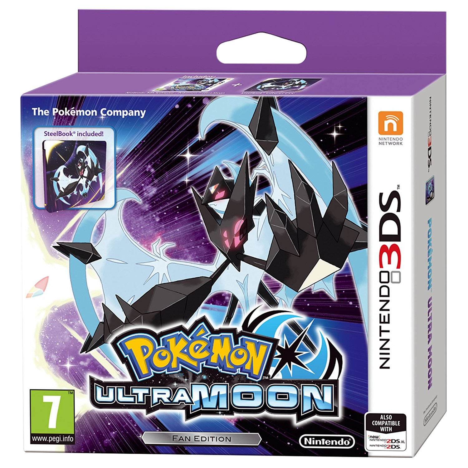 Pokémon Ultra Moon Steelbook Edition - 3DS