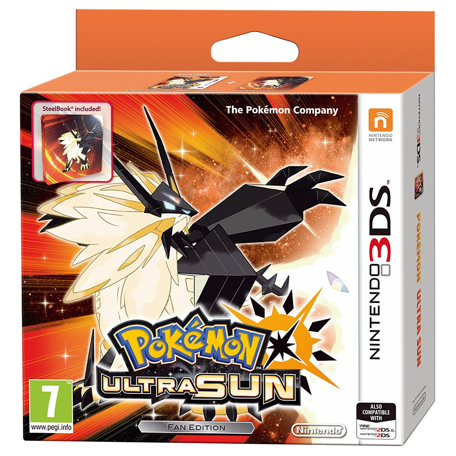 Pokémon Ultra Sun Steelbook Edition - 3DS