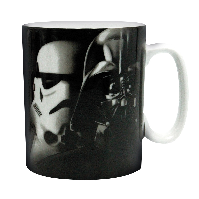 Hrnek Star Wars - Vader a Trooper 460 ml