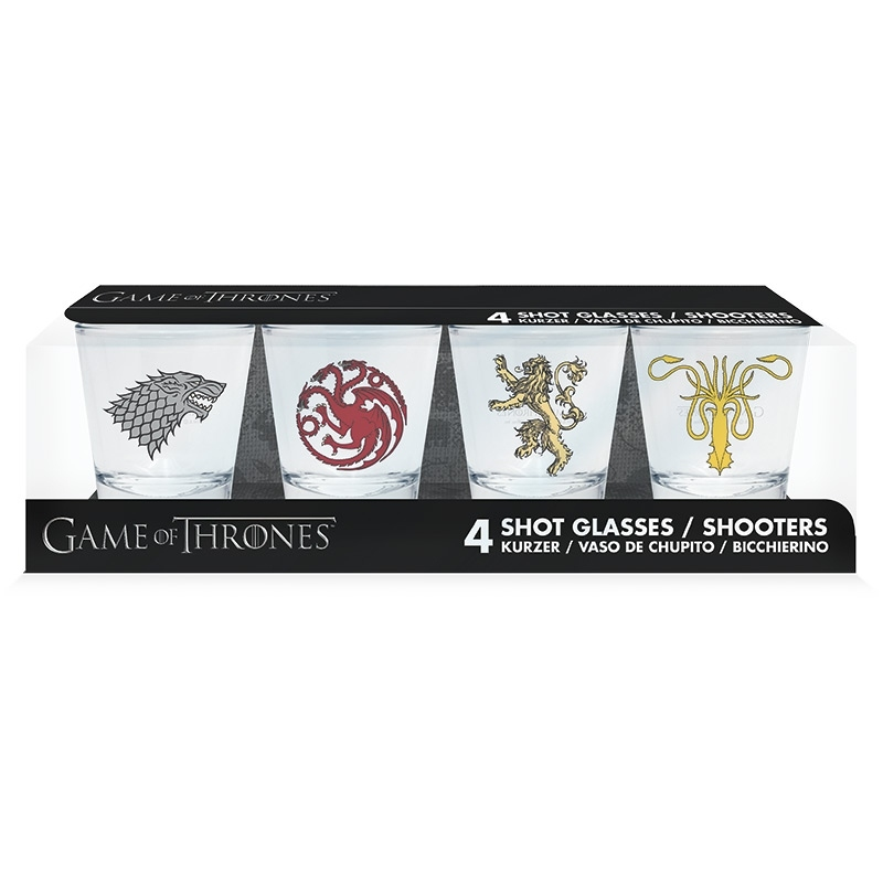 Sada panáků Game of Thrones 50 ml