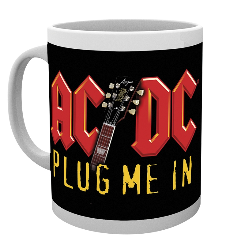 Hrnek AC/DC - Plug me in 295 ml