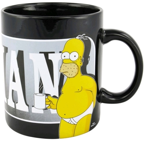 Porcelánový hrnek Simpsonovi - Homer Last Perfect Man (objem 850 ml)