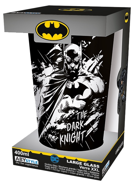 detail Sklenice Batman a Joker 400 ml