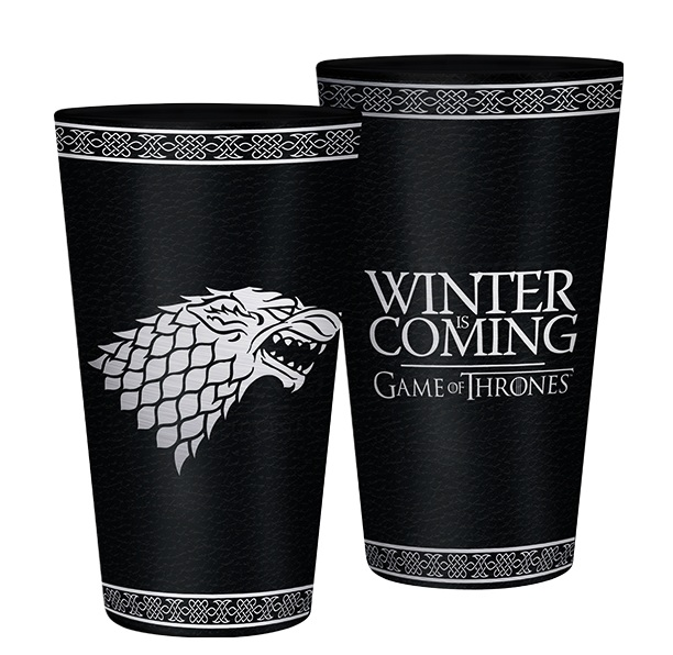 detail Sklenice Game of Thrones - Stark 400 ml