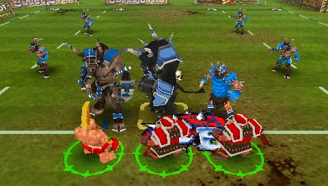 detail Blood Bowl - PSP