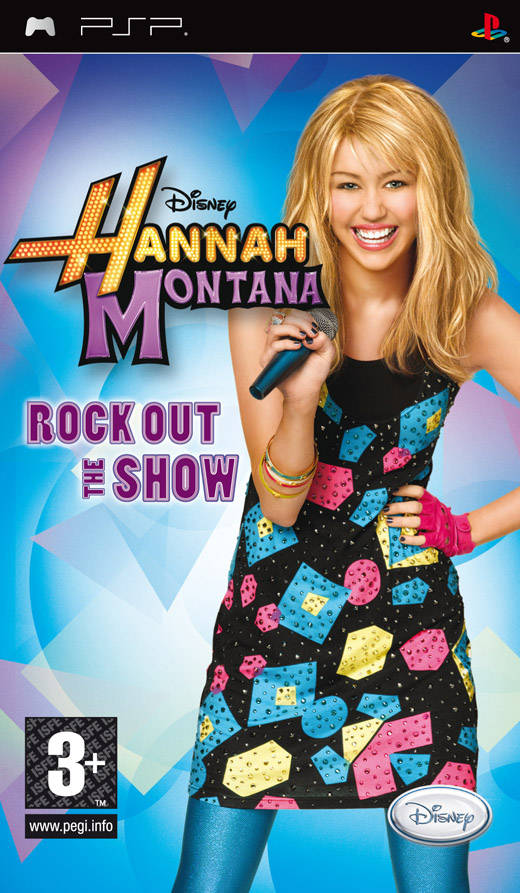 HANNAH MONTANA: ROCK OUT THE SHOW - PSP