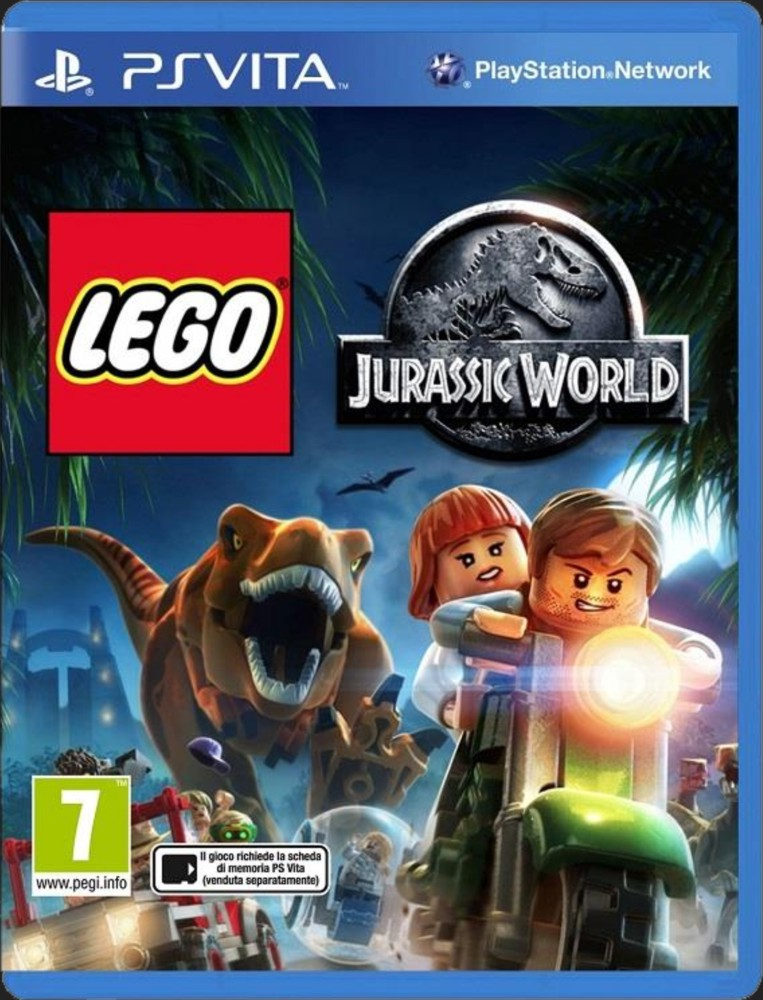 LEGO JURASSIC WORLD GAME - PS Vita