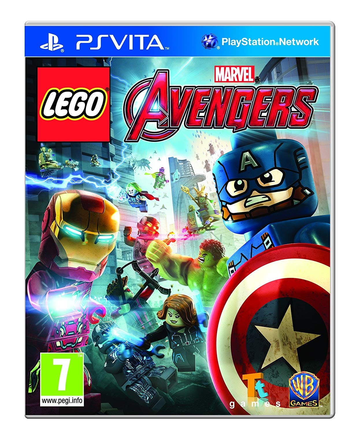 LEGO MARVELS AVENGERS - PS Vita