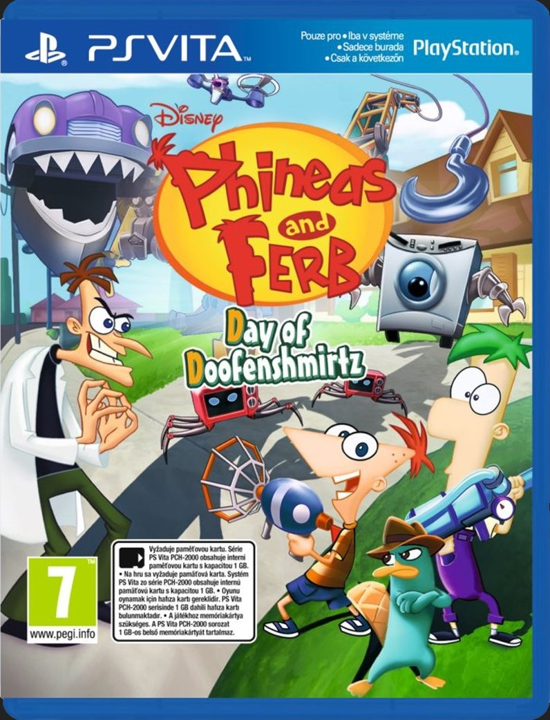 PHINEAS & FERB DAY OF DOOFENSMIRTZ - PS VITA