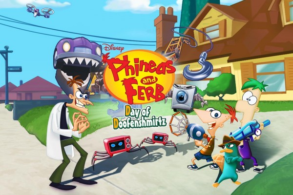 SONY PSVITA - PHINEAS and FERB DAY OF DOOFENSMIRTZ