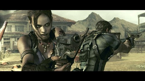 detail RESIDENT EVIL 5 Gold Edition - X360