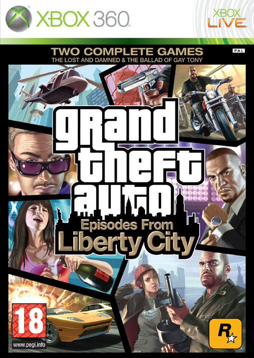 GTA - GRAND THEFT AUTO IV: EPISODES FROM LIBERTY CITY - X360