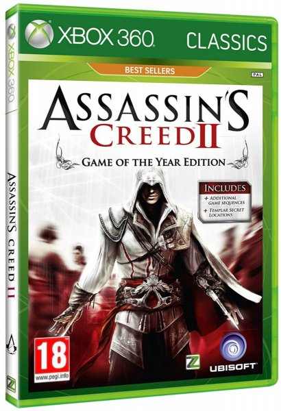 detail ASSASSINS CREED 2 GOTY Edition - X360