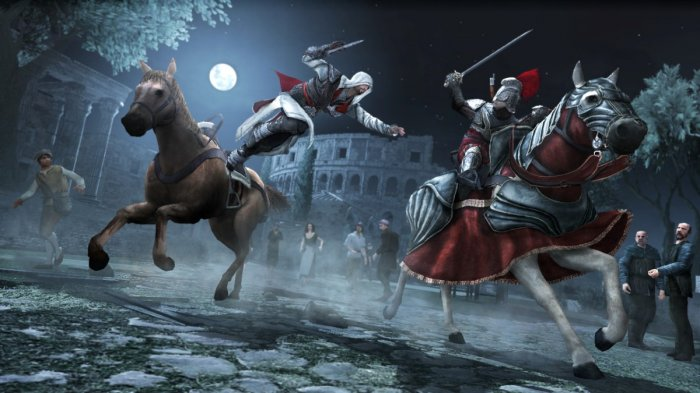 detail ASSASSINS CREED BROTHERHOOD - X360