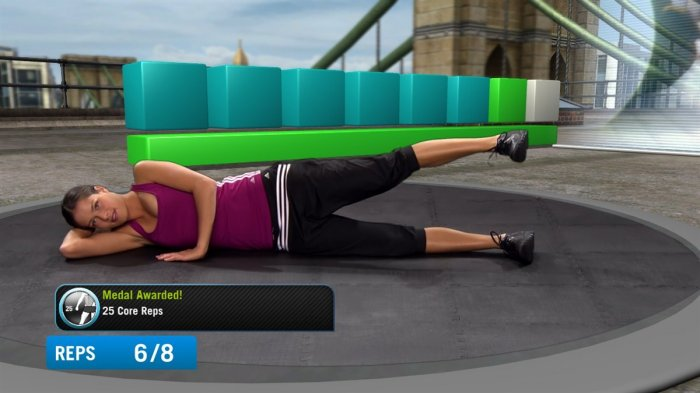 detail ADIDAS MICOACH: THE BASICS - X360 kinect