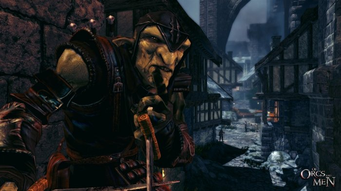detail OF ORCS AND MEN - X360