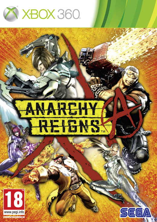 ANARCHY REIGNS - X360