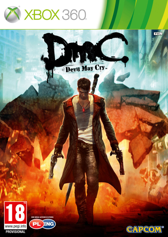 DMC DEVIL MAY CRY - X360