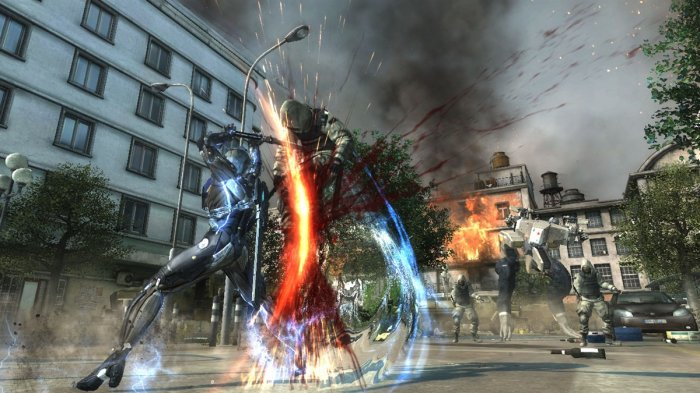 detail Metal Gear Rising: Revengeance - XoneX360