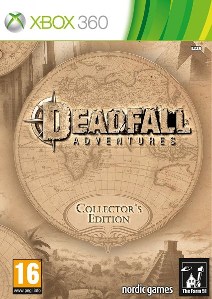detail DEADFALL ADVENTURES Collector's Edition - Xone/X360