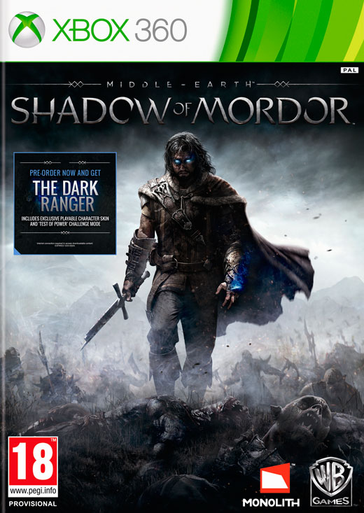 MIDDLE-EARTH: SHADOW OF MORDOR + DLC - X360