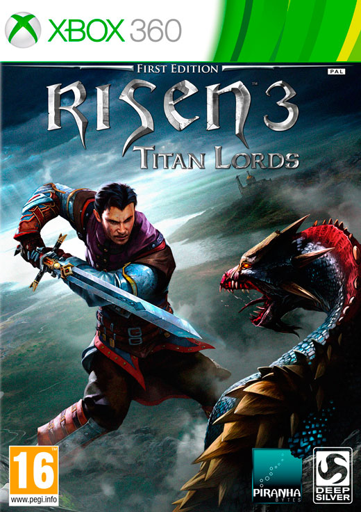 RISEN 3: TITAN LORDS - First Edition - X360