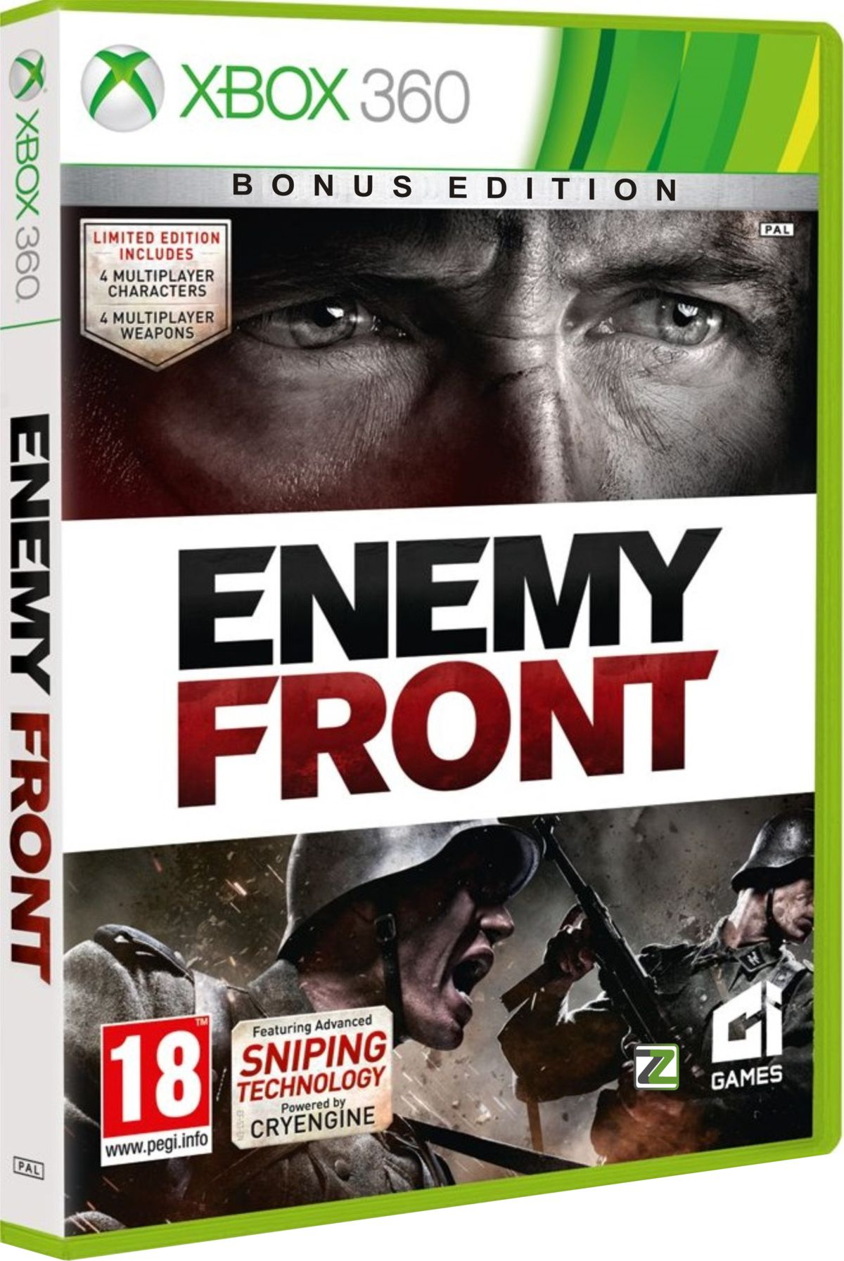 ENEMY FRONT Bonus Edition - X360