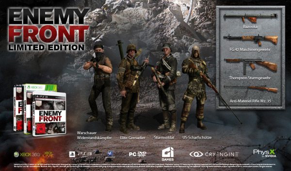 detail Enemy Front Bonus Edition - X360