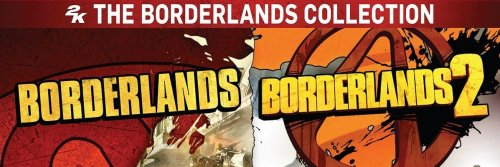 Microsoft Xbox 360 - Borderlands Collection