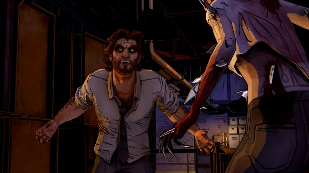 Microsoft Xbox 360 - The Wolf Among Us