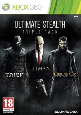 Ultimate Stealth Triple Pack (Thief + Hitman: Absolution + Deus Ex: Hr) - X360