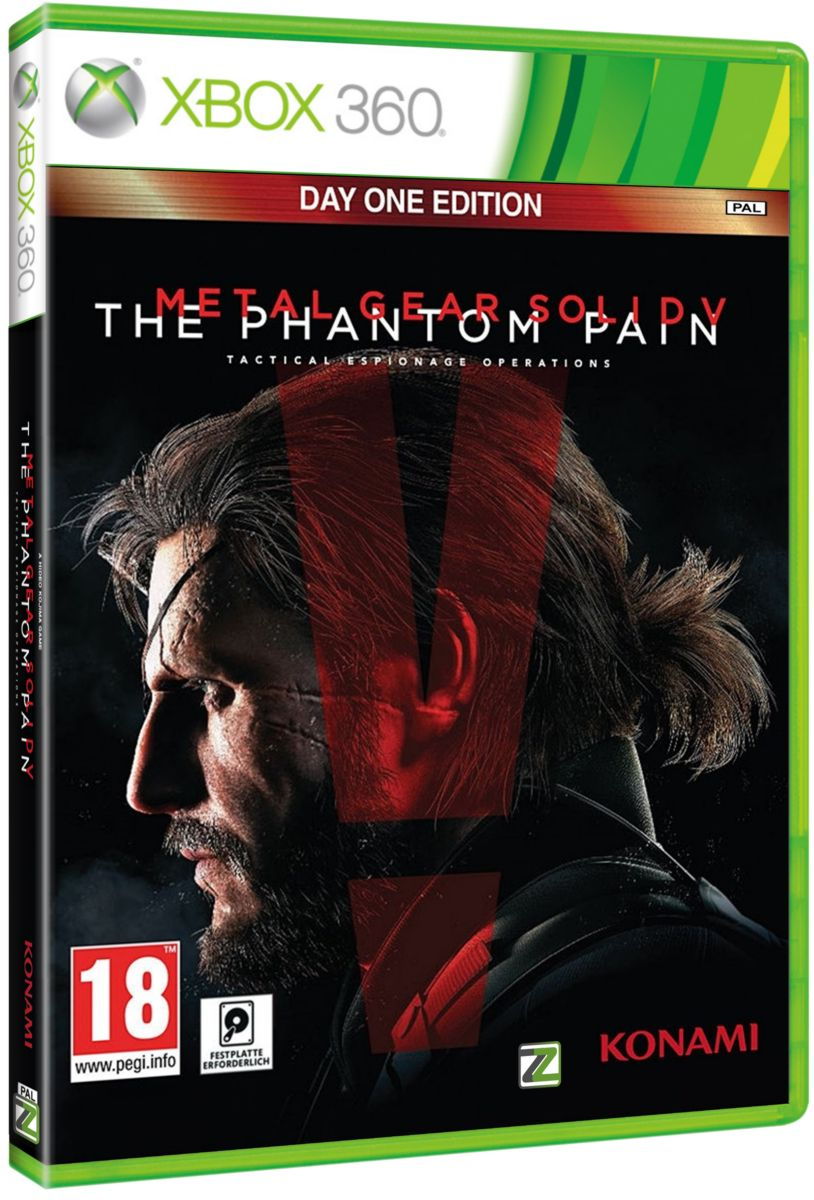 METAL GEAR SOLID V: THE PHANTOM PAIN (D1 Edition) - X360
