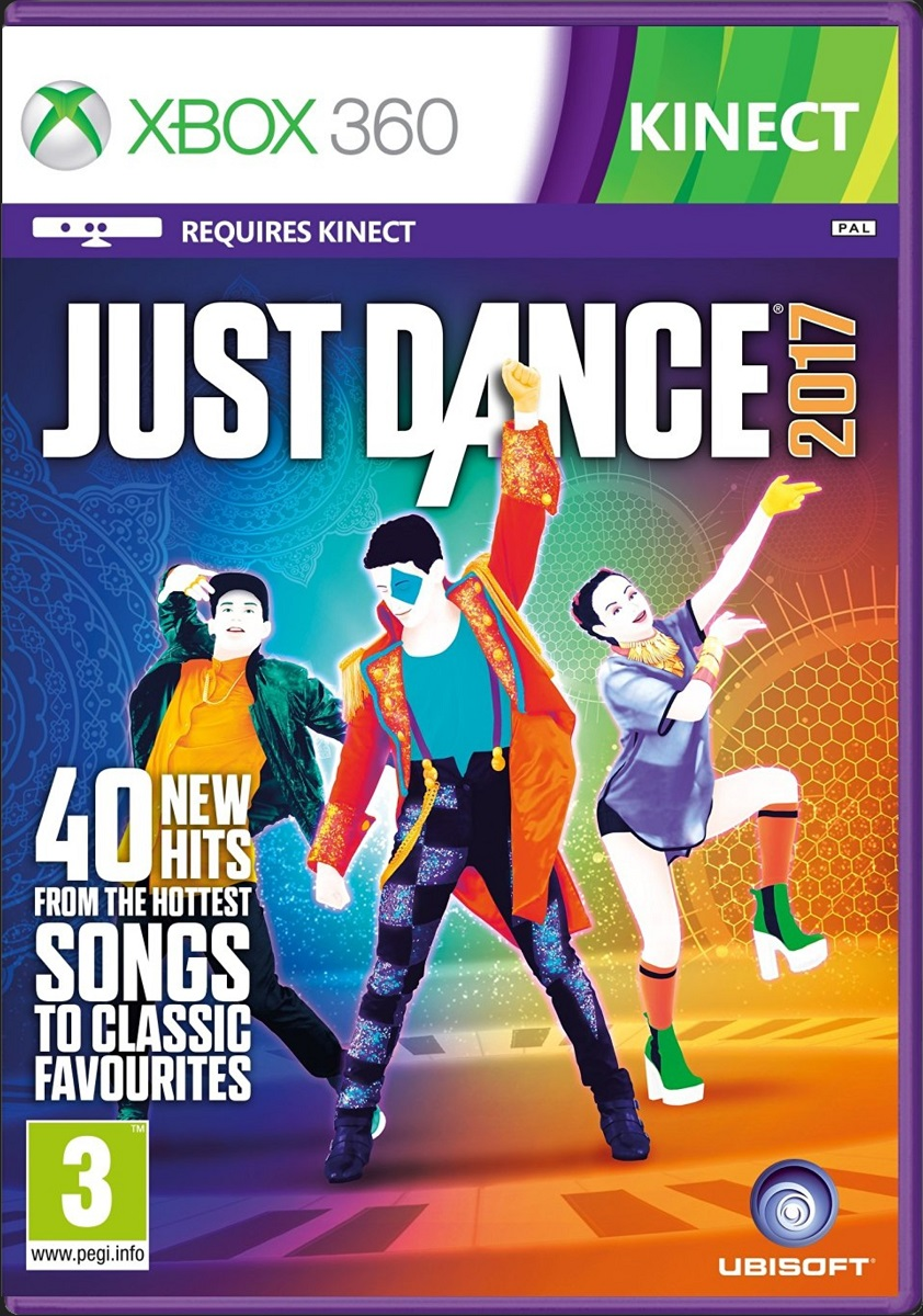 JUST DANCE 2017 - X360 Kinect