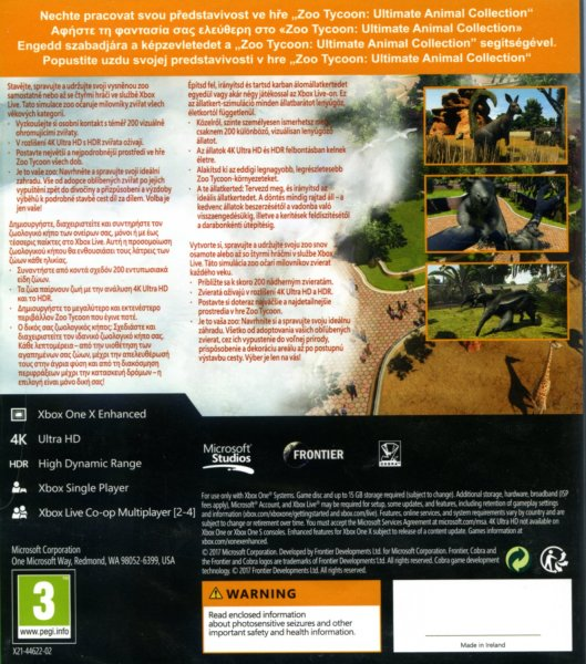 detail ZOO Tycoon Ultimate Animal Collection - Xbox One