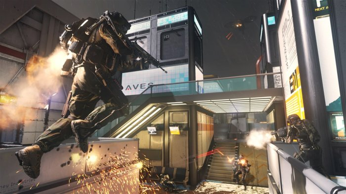 detail CALL OF DUTY: ADVANCED WARFARE - Xbox One
