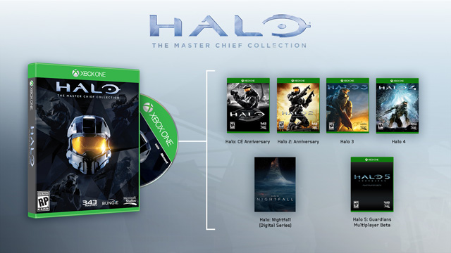 Microsoft Xbox ONE - Halo: The Master Chief Collection