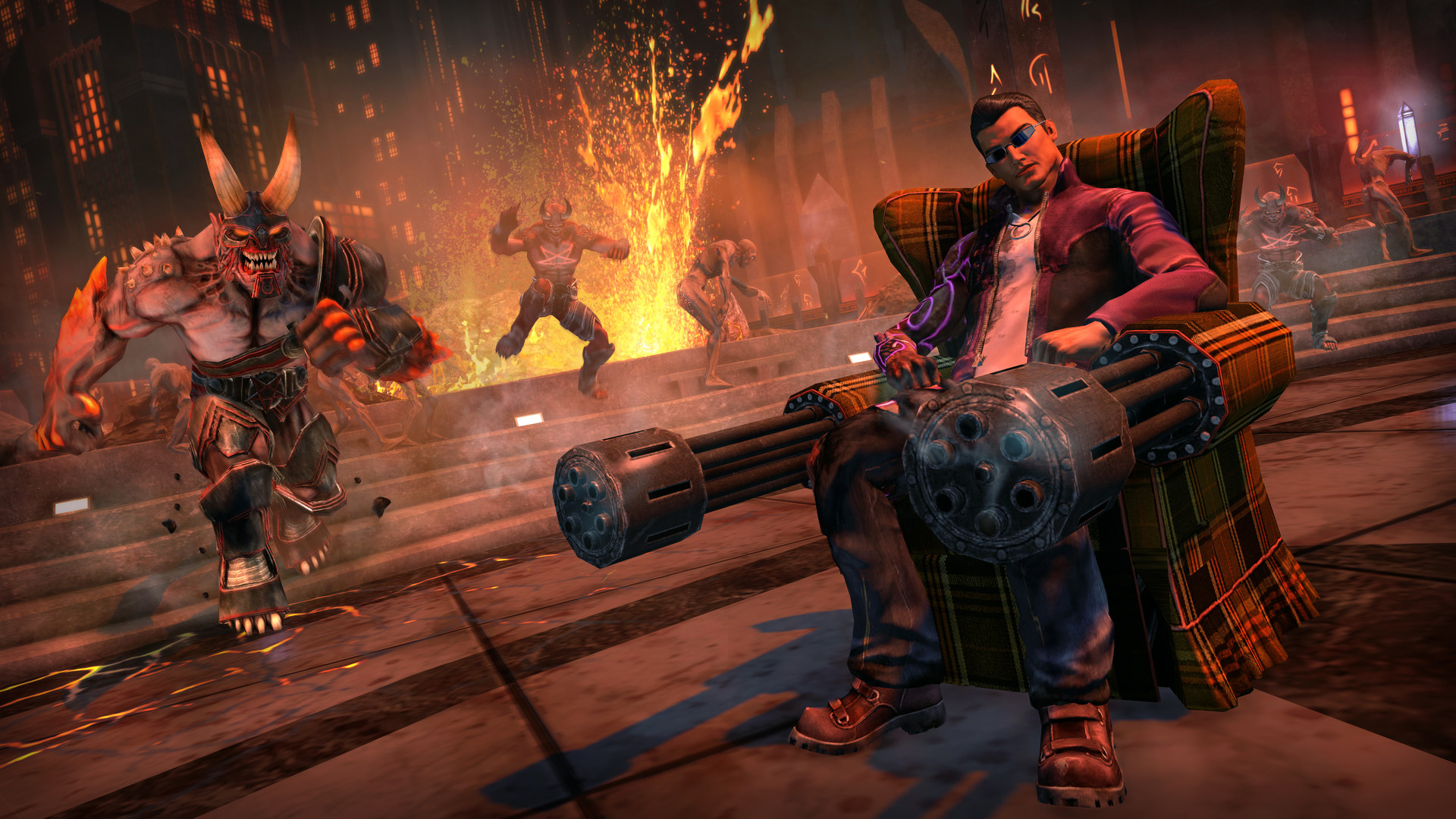 Microsoft Xbox ONE - Saints Row IV: Re-Elected + Gat Out of Hell First Edition
