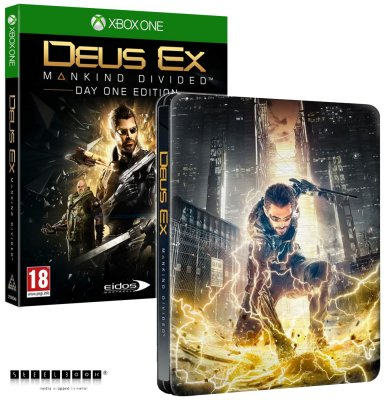 Deus Ex: Mankind Divided D1 Steelbook Edition - Xbox One