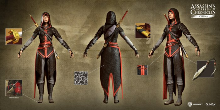detail ASSASSINS CREED CHRONICLES CZ - Xbox One
