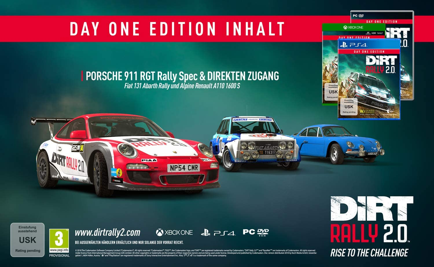 DiRT Rally: Legend Edition pro Xbox ONE