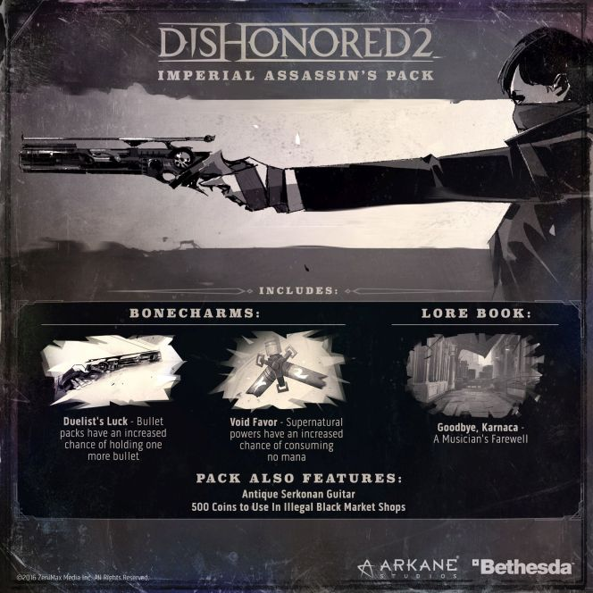 Dishonored 2 pro Xbox ONE