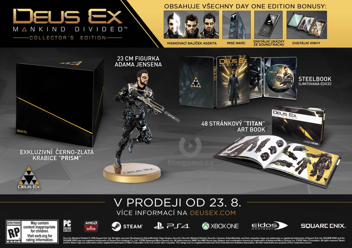 Microsoft Xbox ONE - Deus Ex: Mankind Divided Collectors Edition