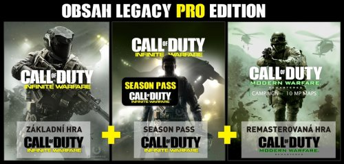 Microsoft Xbox ONE - Call of Duty: Infinite Warfare Legacy PRO Edition