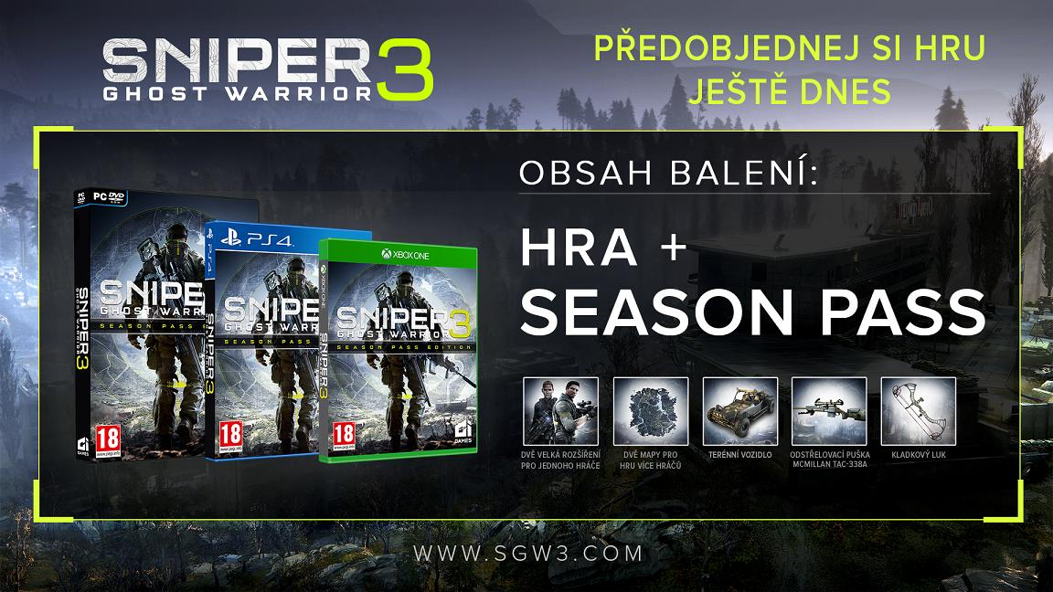 Microsoft Xbox ONE - Sniper: Ghost Warrior 3 Season Pass Edition