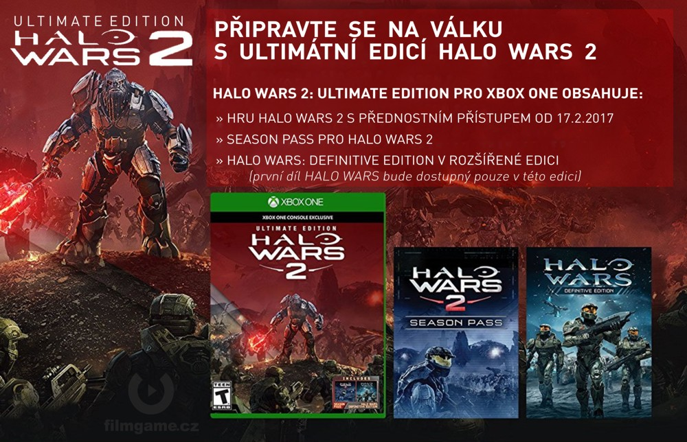 Microsoft Xbox ONE - Halo Wars 2: Ultimate Edition