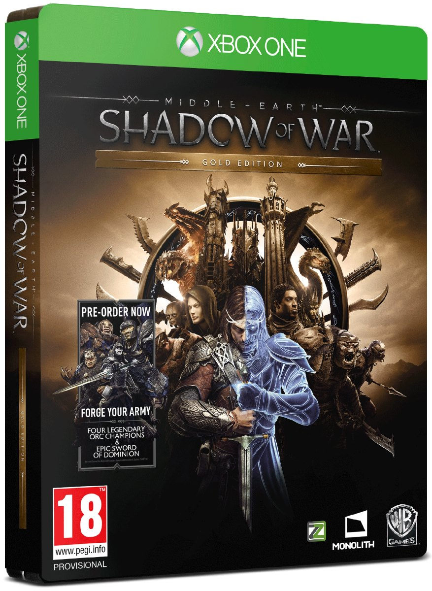 MIDDLE-EARTH: Shadow of War (Gold Edition) - Xone