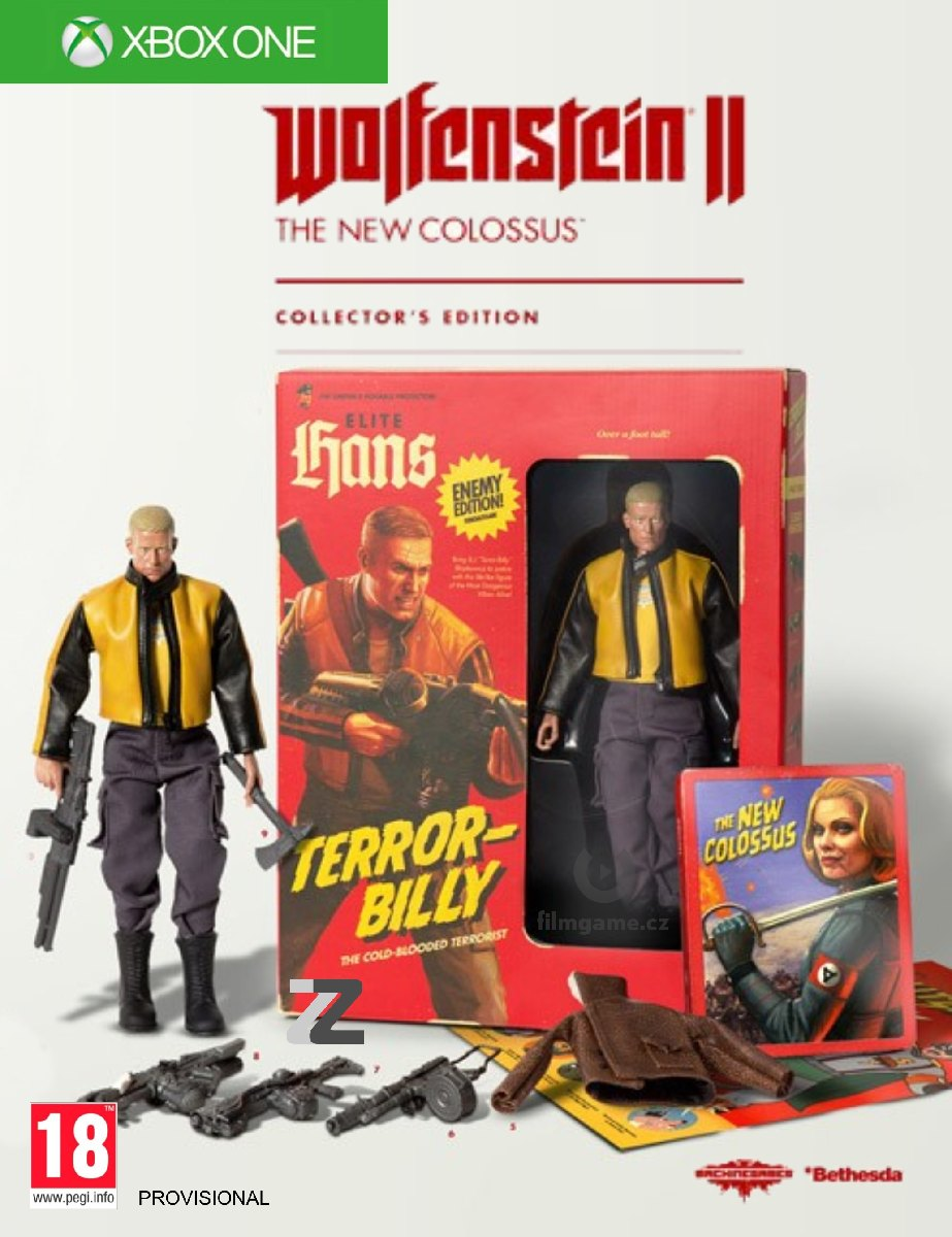 Wolfenstein II: The New Colossus (Collector´s Edition) - Xone