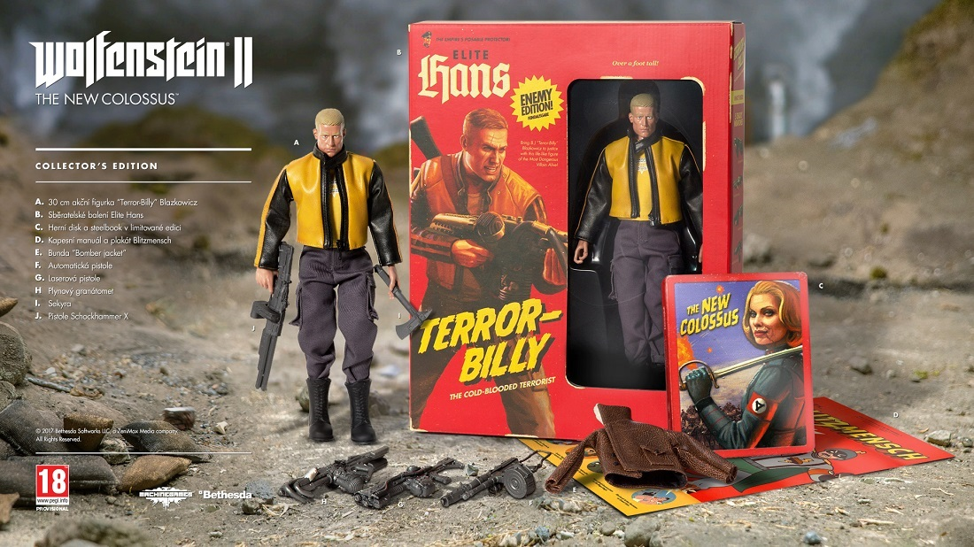 Wolfenstein II: The New Colossus Collector´s Edition